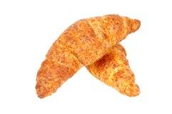 Verse Croissant met kaas Royalty-vrije Stock Afbeeldingen
