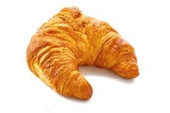 Verse croissant op witte achtergrond Royalty-vrije Stock Afbeeldingen