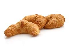 Verse croissanten royalty-vrije stock afbeeldingen