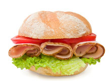 Verse de borstsandwich van Turkije Royalty-vrije Stock Foto