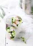 Verse de lentebroodjes op een witte achtergrond Royalty-vrije Stock Fotografie