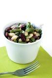 Verse de lentesalade stock afbeeldingen