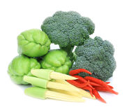 Verse diverse groente Stock Afbeelding