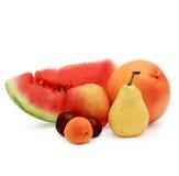 Verse diverse vruchten Stock Foto