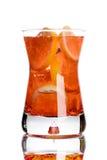 Verse drank met citroen Stock Foto's