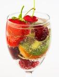 verse drank met vruchten royalty-vrije stock afbeelding