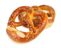 Verse Duitse pretzel Stock Foto's