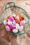 Verse eieren royalty-vrije stock afbeelding