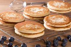 Verse Eigengemaakte Pannekoeken stock foto