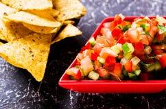 Verse eigengemaakte salsa Royalty-vrije Stock Fotografie