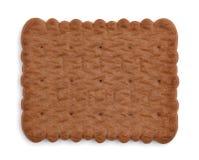 Verse en knapperige crackers op wit Stock Foto
