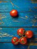 Verse en rijpe tomaten Royalty-vrije Stock Foto