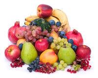 Verse en rijpe vruchten stock fotografie