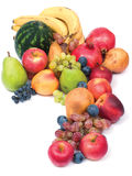 Verse en rijpe vruchten Royalty-vrije Stock Foto