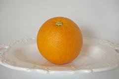 Verse en sappige sinaasappelen Stock Fotografie