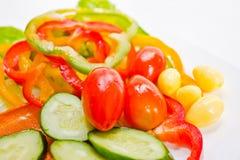 Verse en smakelijke salade. Stock Fotografie