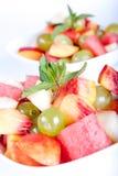Verse fruitsalade Royalty-vrije Stock Foto