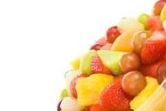 Verse Fruitsalade met Copyspace royalty-vrije stock foto