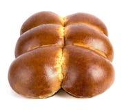 Verse gebakjes op een witte achtergrond Royalty-vrije Stock Foto's