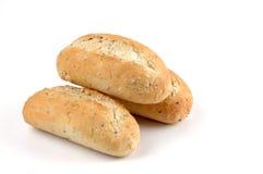 Verse Gebakken Broodjes stock foto