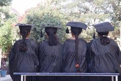 Verse gediplomeerden Stock Foto