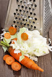 Verse gehakte groenten Stock Foto