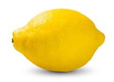 Verse Gele Kalk, vitamine C van de Citroen de rijke heks Stock Afbeelding