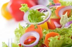 Verse gemengde salade Stock Foto's