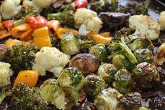 Verse geroosterde groenten Stock Foto's
