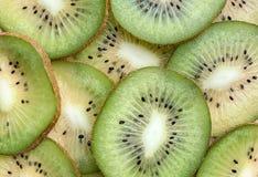 Verse gesneden Kiwi stock afbeelding