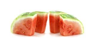 Verse gesneden watermeloen Stock Afbeeldingen