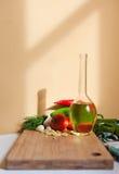 Verse gezonde ingrediënten. Royalty-vrije Stock Foto's