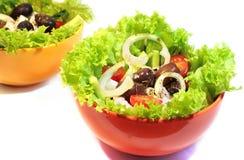 Verse gezonde salade Royalty-vrije Stock Foto's