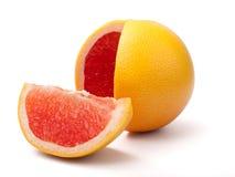 Verse grapefruit royalty-vrije stock afbeeldingen