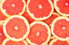 Verse grapefruit als achtergrond Royalty-vrije Stock Fotografie