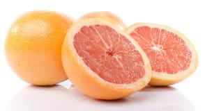 Verse grapefruits Royalty-vrije Stock Foto's