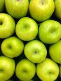 Verse Groene Appel Stock Foto's