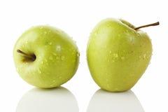 Verse Groene Appelen Stock Foto