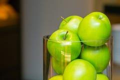 Verse groene appelen Royalty-vrije Stock Foto's
