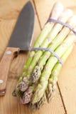 Verse groene asperge Stock Afbeelding