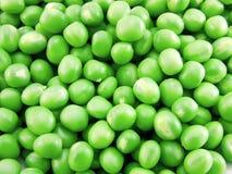 Verse groene erwten stock afbeelding