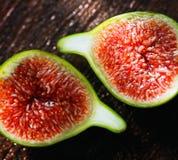 Verse Groene Fig. Royalty-vrije Stock Foto's