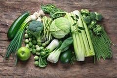 Verse groene groenten royalty-vrije stock fotografie