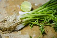 Verse groene groenten Stock Afbeelding