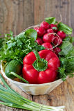 Verse groente Stock Fotografie
