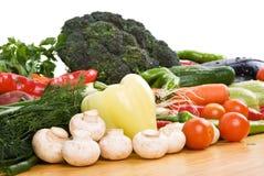 Verse groente Stock Foto's