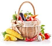 Verse groente met bladeren stock afbeelding