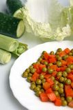 Verse groenten stock foto's