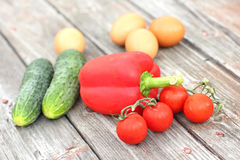 Verse groenten Stock Afbeelding