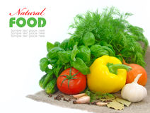 Verse groenten Stock Afbeeldingen